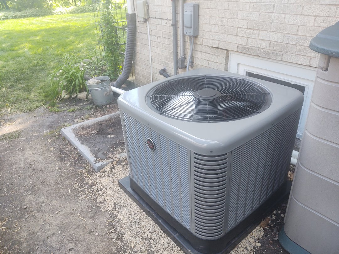 Mount Prospect, IL - Ac installation We installed a Ruud ra14 air conditioner