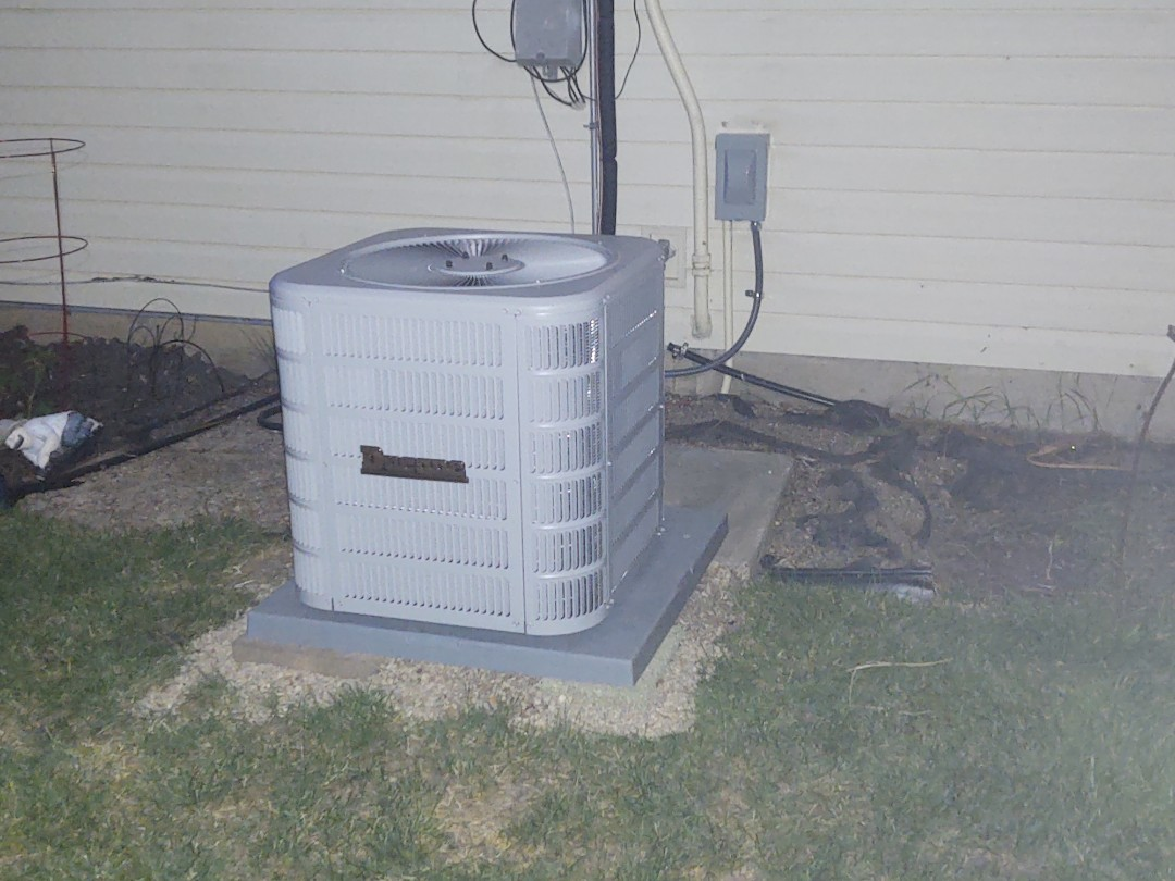 We installed a Ducane 80% model 80g1 and a 13 seer air conditioner.