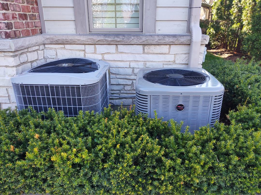 Arlington Heights, IL - Ac installation We installed a Ruud ra13 13 seer air conditioner