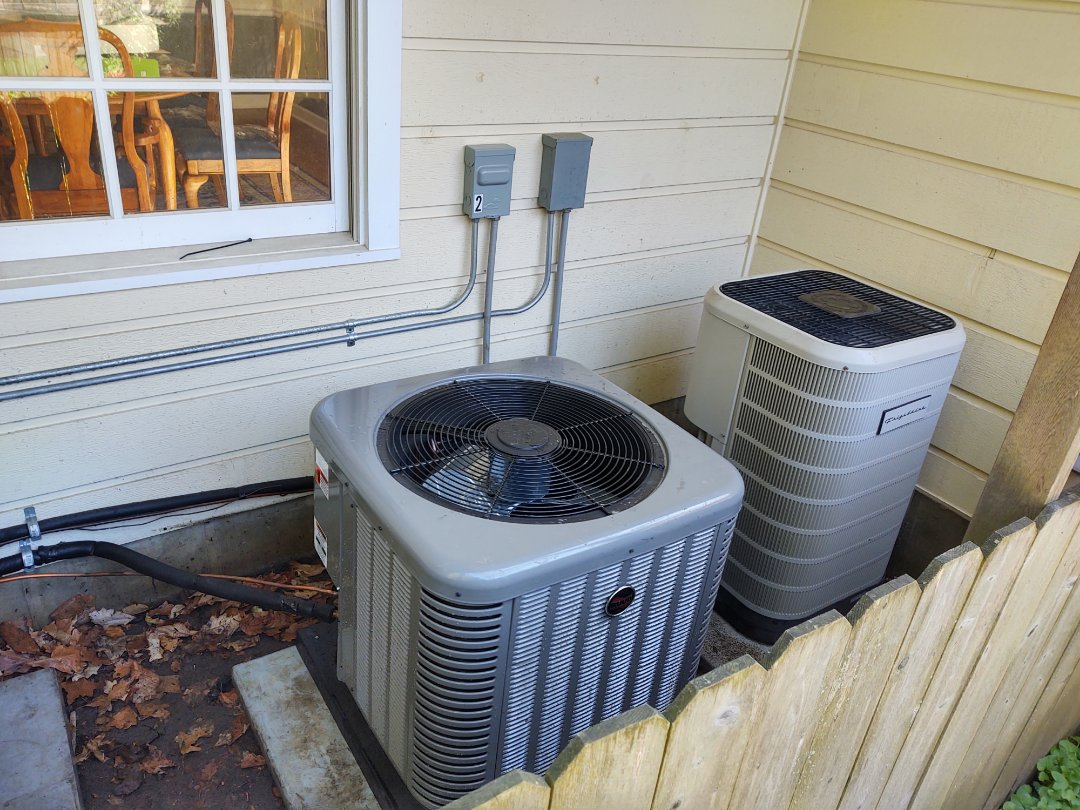 Winnetka, IL - AC installation We installed a Ruud ra13 condenser and matching evaporator coil