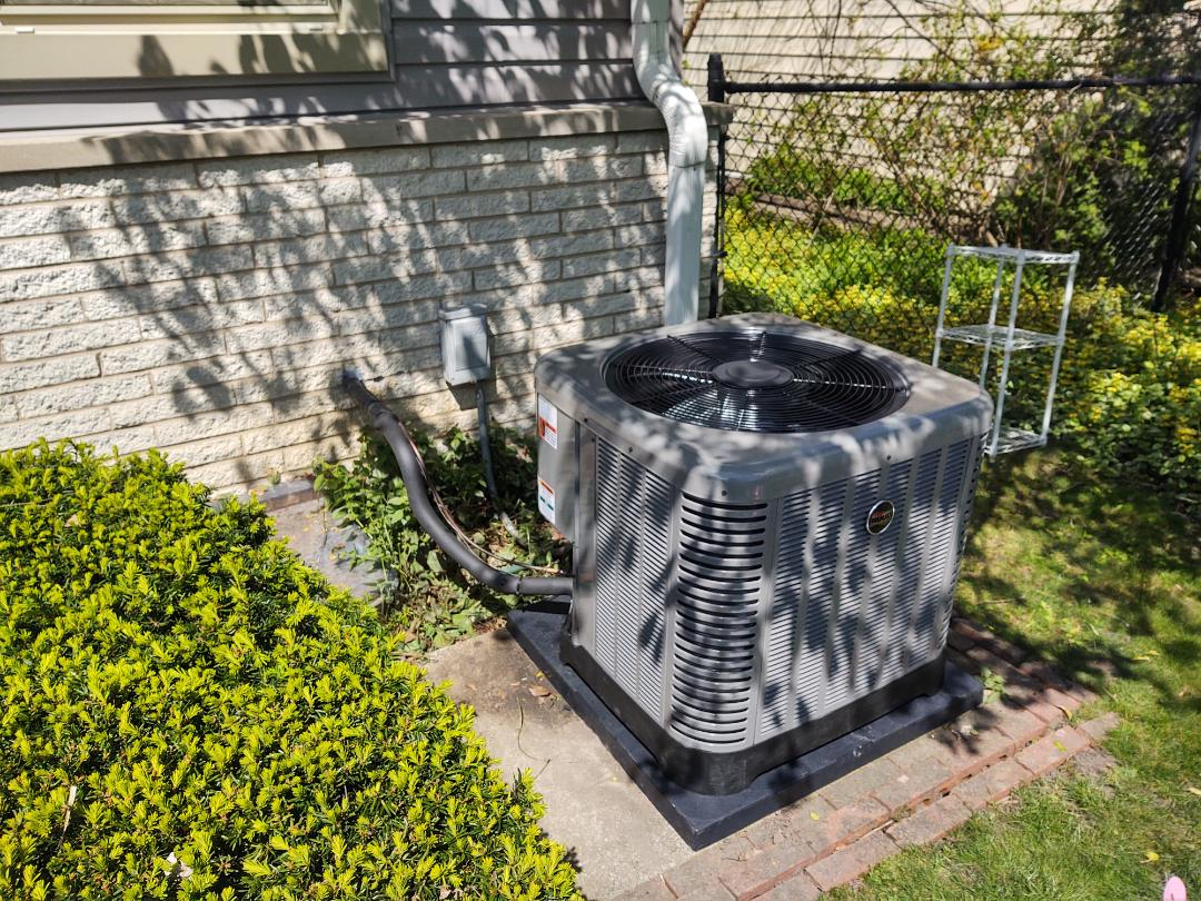 Northbrook, IL - Ac installation We installed a Ruud air conditioner and evaporator coil in Northbrook