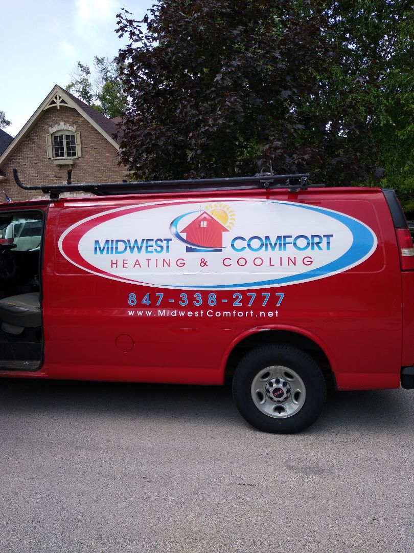 Arlington Heights, IL - Clogged condensate drain line on Ruud AC. Flushed and cleaned out with pressure/chemical combo.