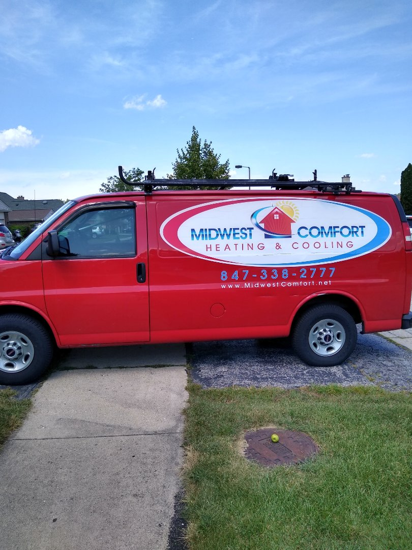 Des Plaines, IL - Service call for blower making noise. Found Rheem blower wheel was loose from blower shaft