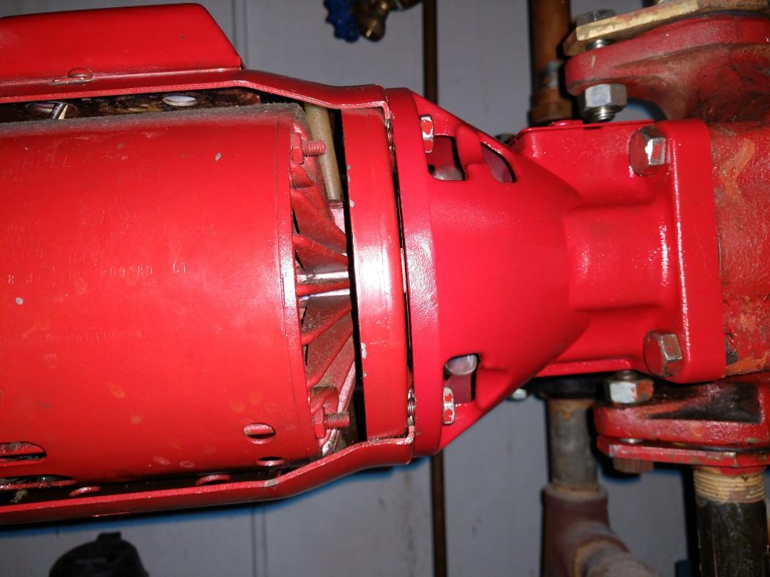 Mount Prospect, IL - I rebuilt a B&G boiler pump