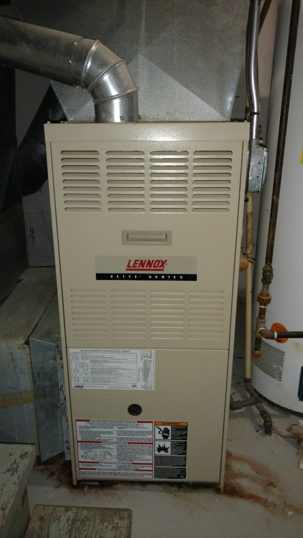 Mount Prospect, IL - Furnace maintenance call. Performed furnace tune up on Lennox unit.