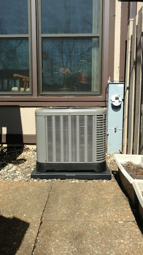 Wheeling, IL - AC installation call. Performed air conditioning installation on Ruud unit.