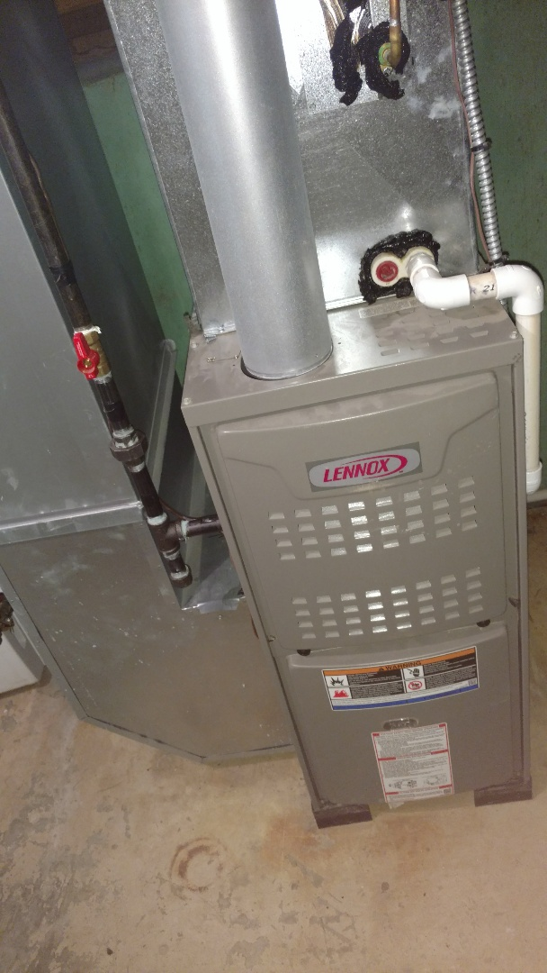 Palatine, IL - Furnace service call. Performed furnace repair on Lennox unit.
