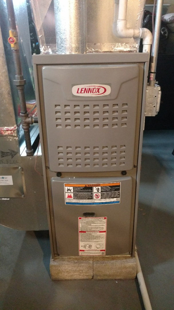 Mount Prospect, IL - Furnace service call. Performed furnace repair on Lennox unit