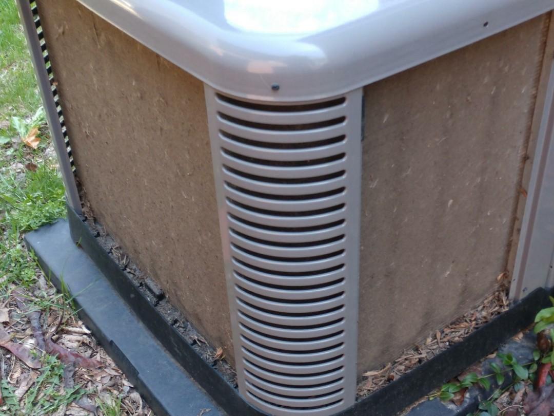 Mount Prospect, IL - Air conditioner maintenance call. Performed air conditioning maintenance on Ruud unit.