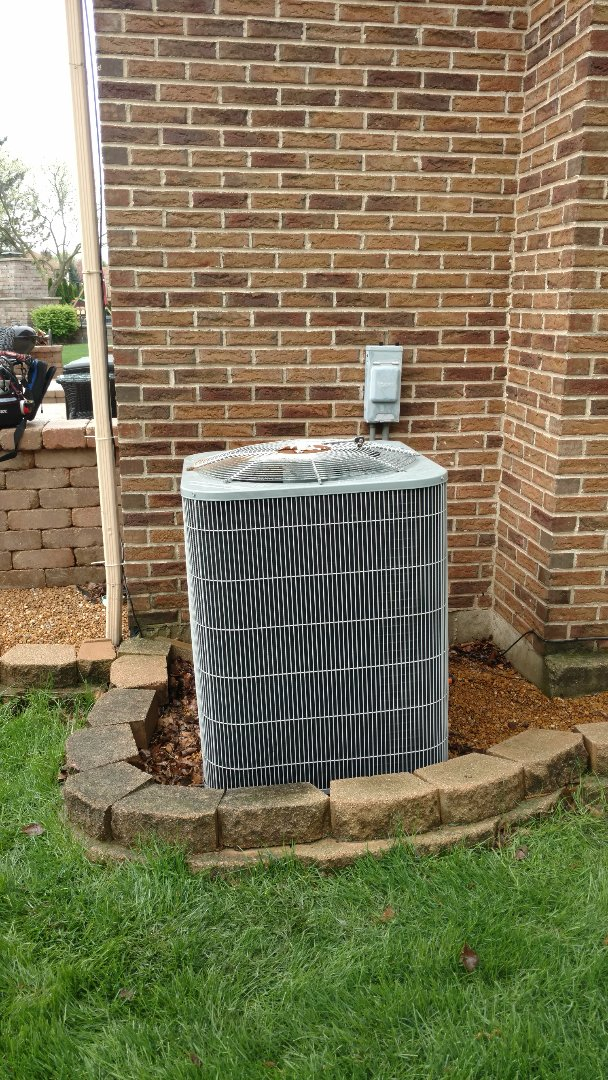 Arlington Heights, IL - Air conditioning maintenance call. Performed air conditioner maintenance on carrier unit.