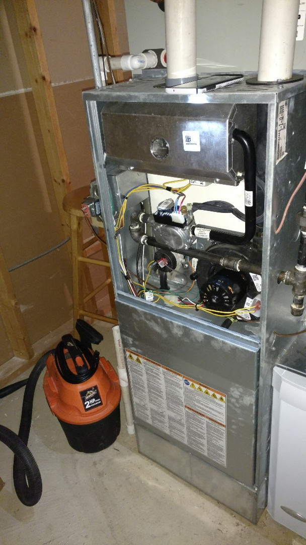 Mount Prospect, IL - Furnace maintenance call. Performed furnace and humidifier maintenance on Ameristar unit