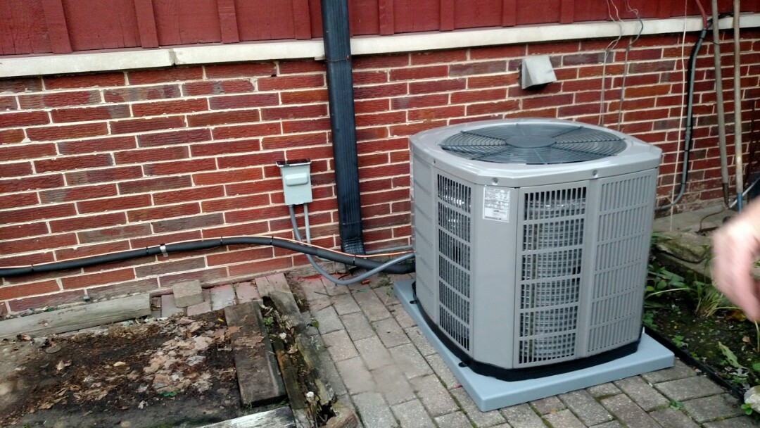 Prospect Heights, IL - Installed American Standard furnace and AC in Prospect Heights