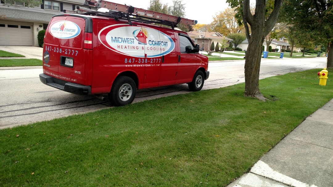 Mount Prospect, IL - Furnace Maintenance call. Performed furnace maintenance on Trane unit in Mt Prospect.