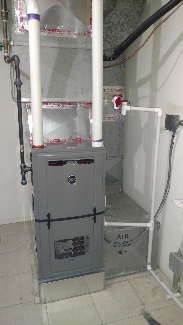 Glenview, IL - Furnace installation call. Performed furnace installation on Ruud unit.