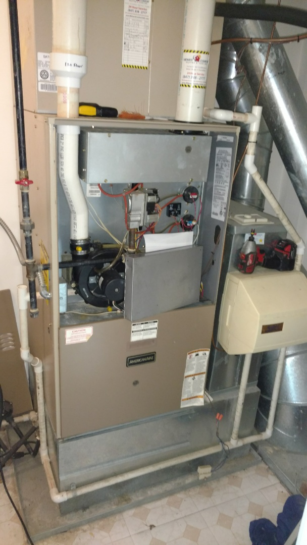 Winnetka, IL - Furnace maintenance call.  Performed furnace maintenance on Armstrong units.