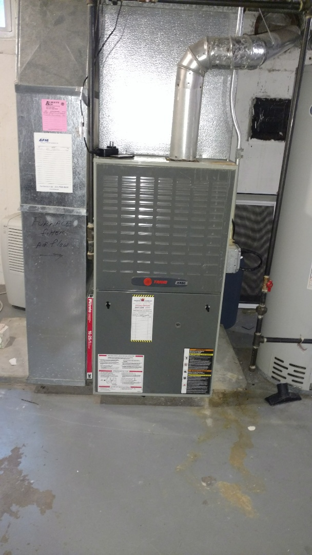 Mount Prospect, IL - Furnace maintenance call. Performed furnace maintenance on Trane unit.