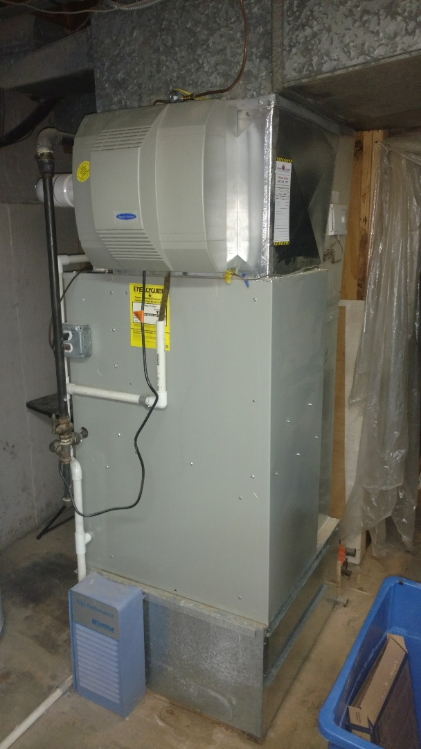 Mount Prospect, IL - Humidifier service call. Performed humidifier repair on American standard unit