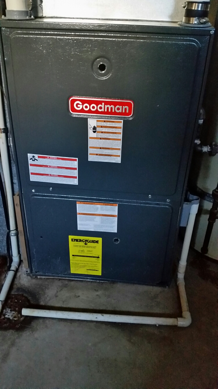 St. Peters, MO - Fall maintenance on a goodman furnace