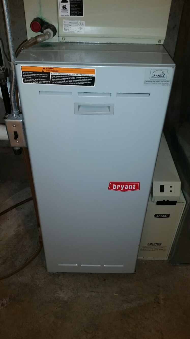 Innsbrook, MO - Doing a fall maintenance on 3 Bryant furnaces
