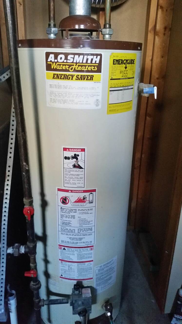 St. Peters, MO - Replacing an A.O. Smith gas water heater