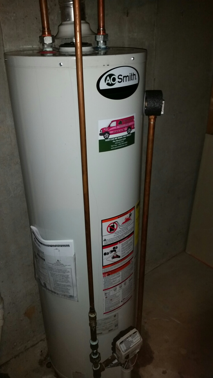 St. Peters, MO - Installing a new A O Smith water heater
