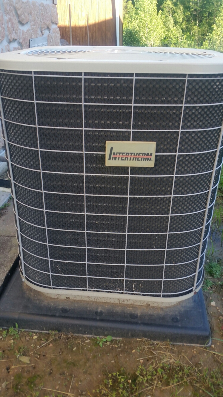 Moscow Mills, MO - Intertherm air conditioner not cooling