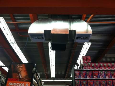Dellwood, MO - Ductwork
