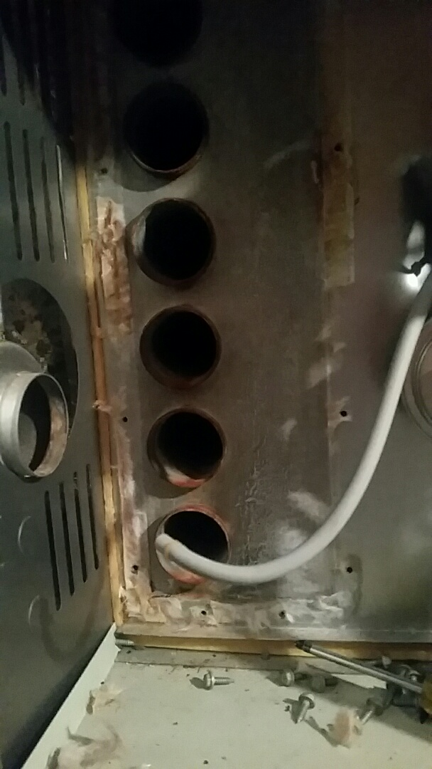 Rockwall, TX - Replacing a defective Induced Draft Motor and Thermostat.