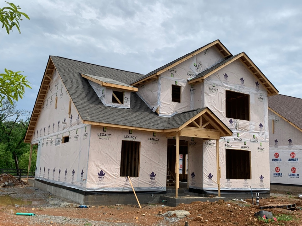Huntsville, AL - New Construction Roofing Project in Huntsville, AL! Atlas Pro-Lam WeatherWood