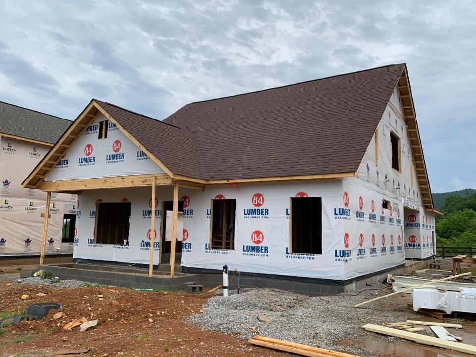 Huntsville, AL - New Construction Roofing Project in Huntsville, AL! Atlas Pro-Lam Burnt Sienna