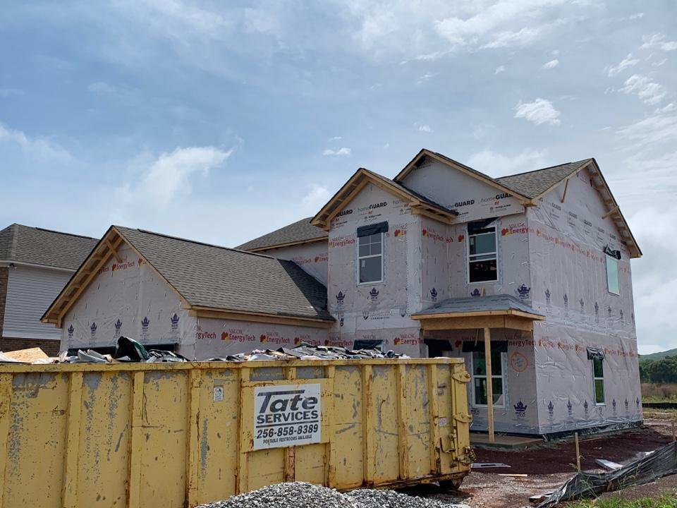 Huntsville, AL - New Construction Roofing Project in Huntsville, AL! GAF Natural Shadow WeatherWood