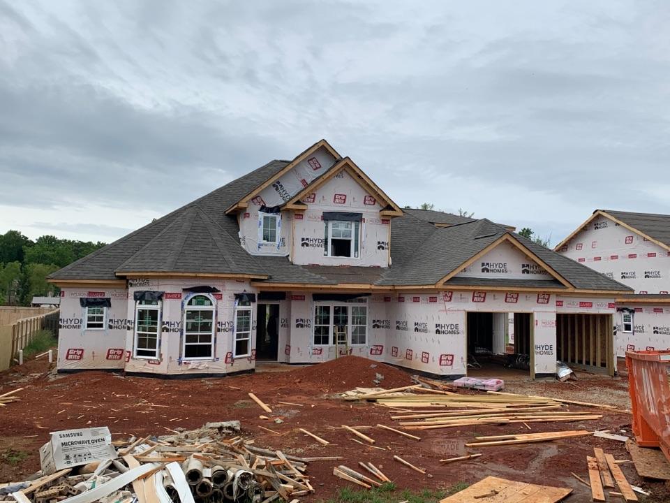 Harvest, AL - New Construction Roofing Project in Harvest, AL! Owens Corning Oakridge Driftwood