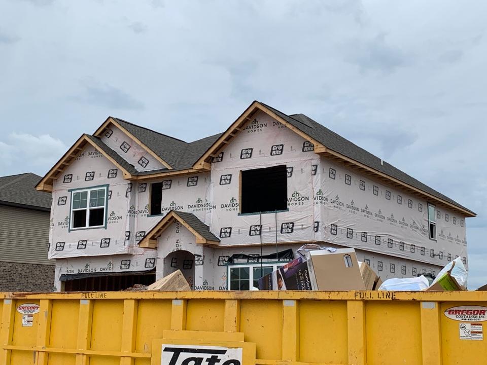 Hazel Green, AL - New Construction Roofing Project in Hazel Green, AL! Owens Corning Oakridge Driftwood