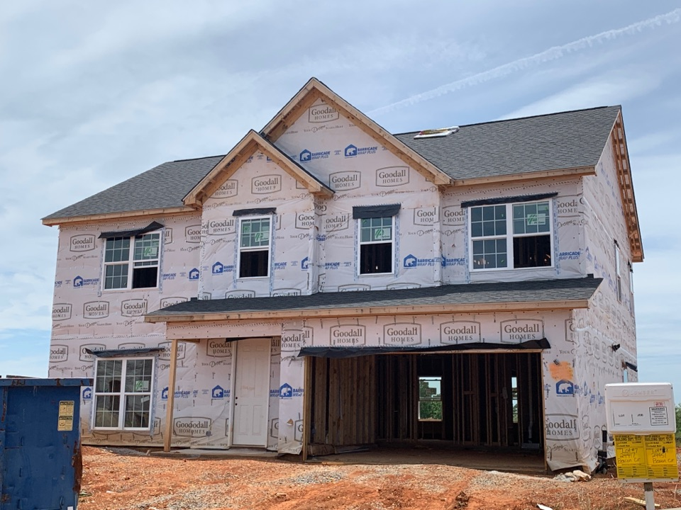 Athens, AL - New Construction Roofing Project in Athens, AL! Atlas Pro-Lam Black Shadow