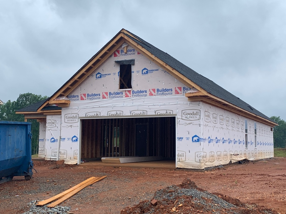 Harvest, AL - New Construction Roofing Project in Madison, AL! GAF Timberline Natural Shadow Charcoal