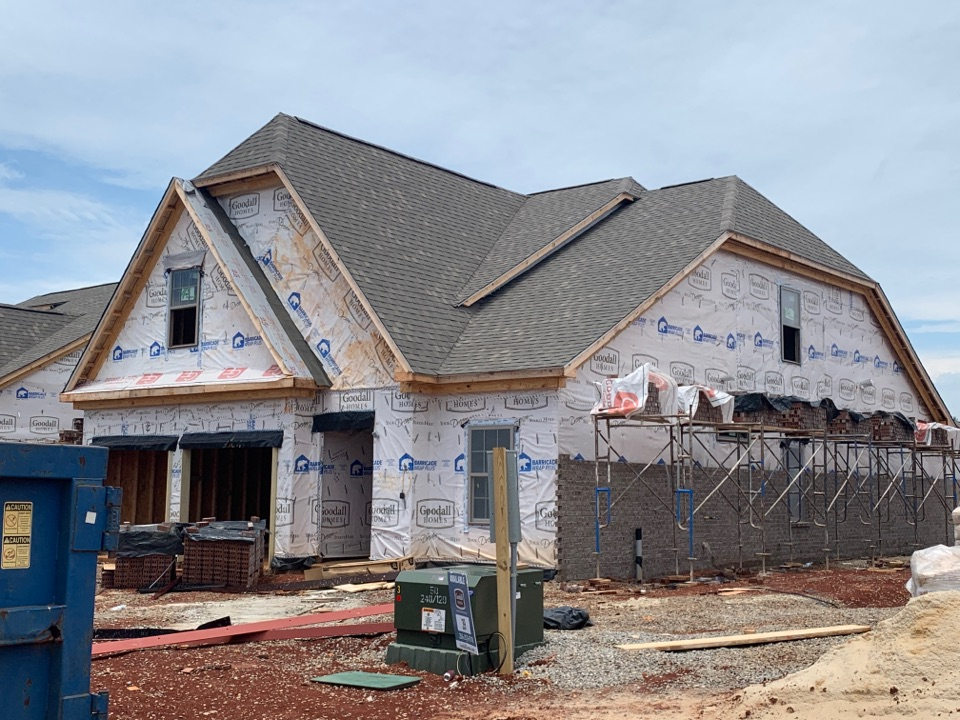 Athens, AL - New Construction Roofing Project in Athens, AL! Atlas Pro-Lam Weatherwood