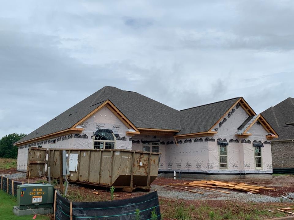 Madison, AL - New Construction Roofing Project in Madison, AL! Owens Corning Oakridge Driftwood