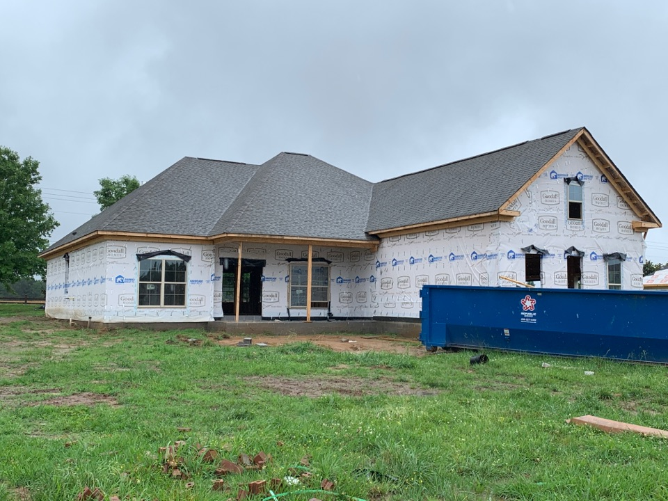 Athens, AL - New Construction Roofing Project in Athens, AL! GAF Timberline Natural Shadow WeatherWood