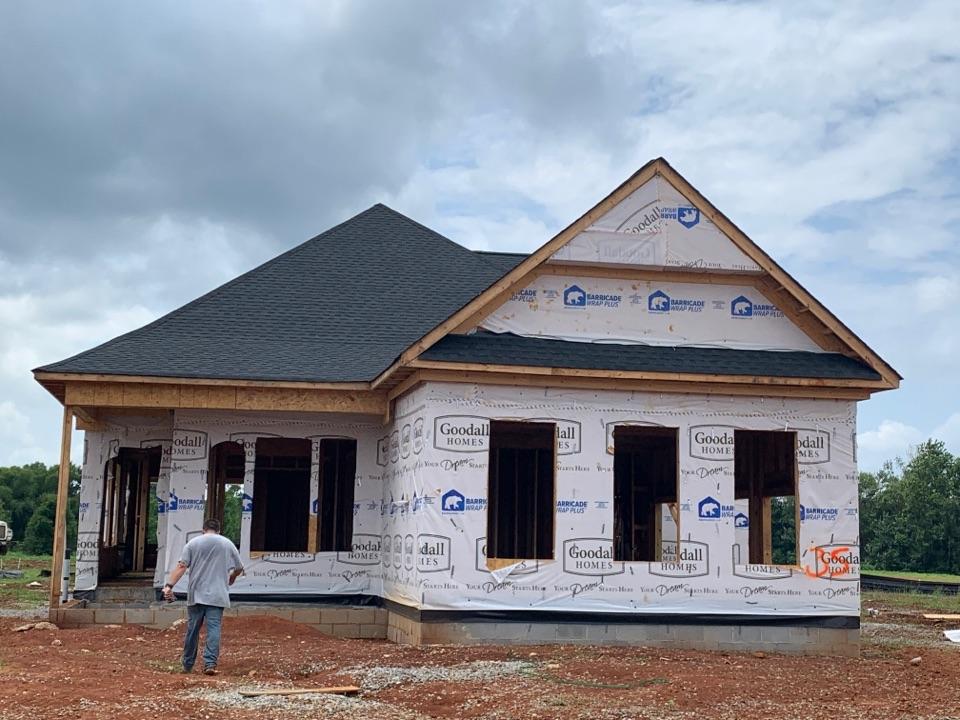 Huntsville, AL - New Construction Roofing Project in Huntsville, AL! GAF Timberline Natural Shadow Charcoal