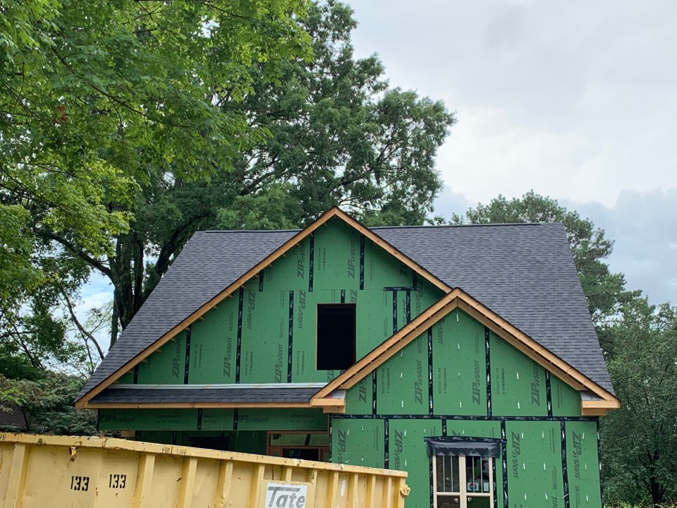 Huntsville, AL - New Construction Roofing Project in Huntsville Alabama! CertainTeed Landmark Morie Black