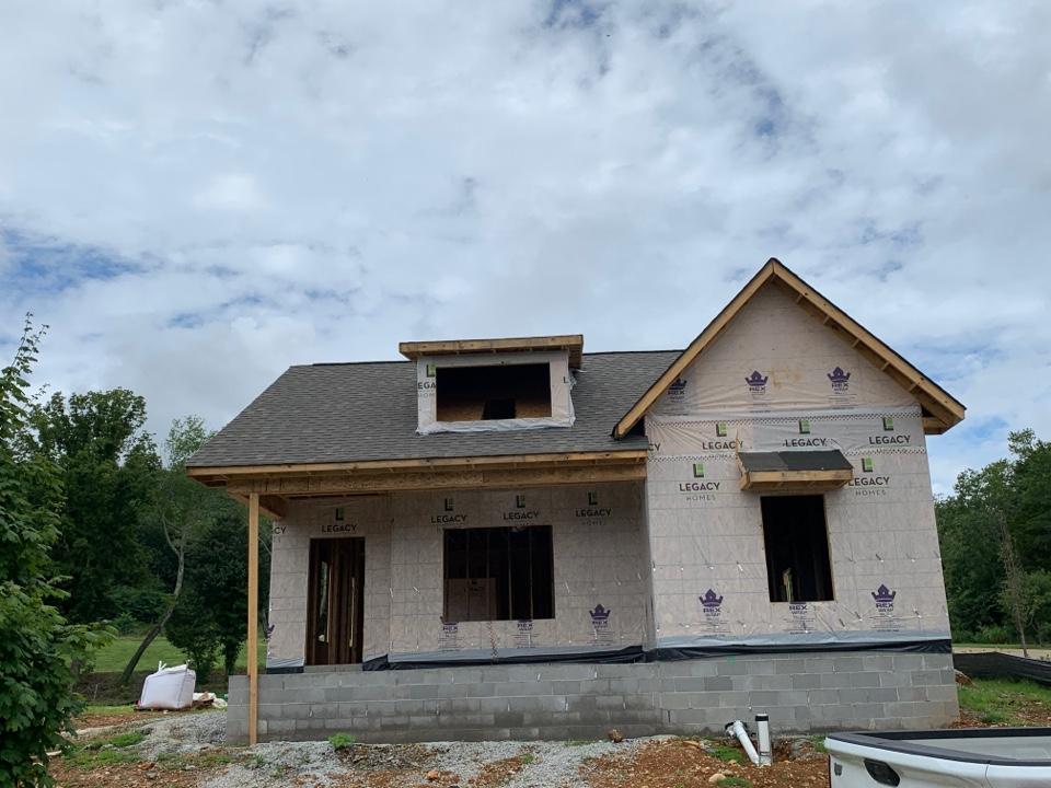 Huntsville, AL - New Construction Roofing Project in Huntsville Al!