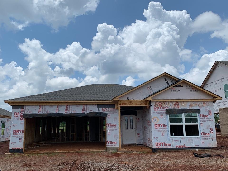 Huntsville, AL - New Construction Roofing Project in Huntsville Alabama! Natural shadow WeatherWood