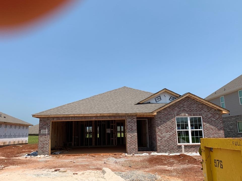 Hazel Green, AL - New Construction Roofing Project in Hazel Green Alabama! IKO Cambridge Weatherwood