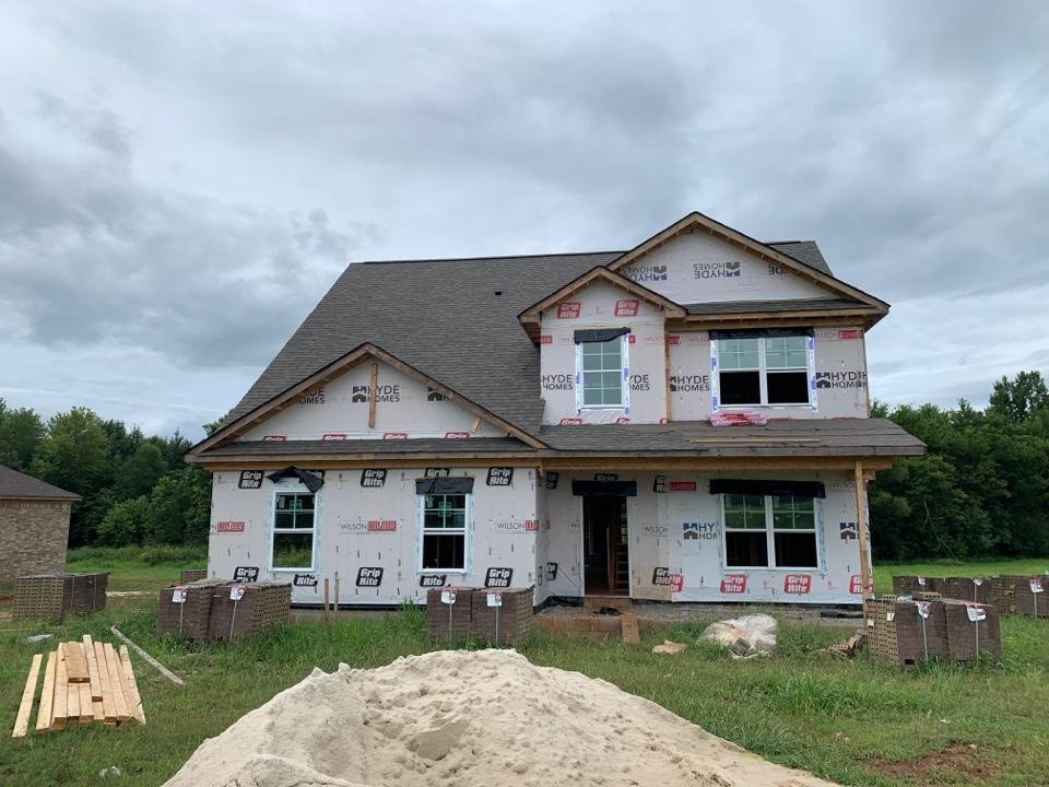 Toney, AL - New Construction Roofing Project in Toney, AL! Owens Corning Oakridge Driftwood