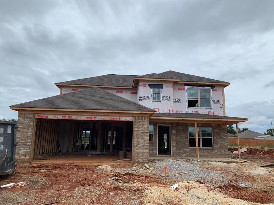 Toney, AL - New Construction Roofing Project in Toney, AL! Owens Corning Oakridge Teak