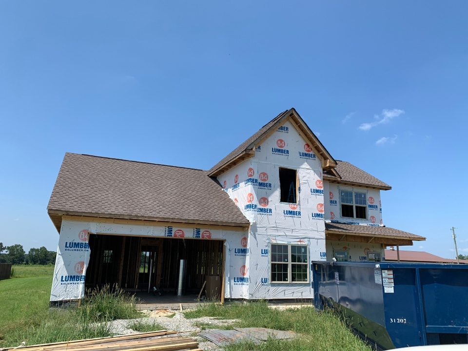 Toney, AL - New Construction Roofing Project in Toney, AL! GAF Timberline HDZ Mission Brown