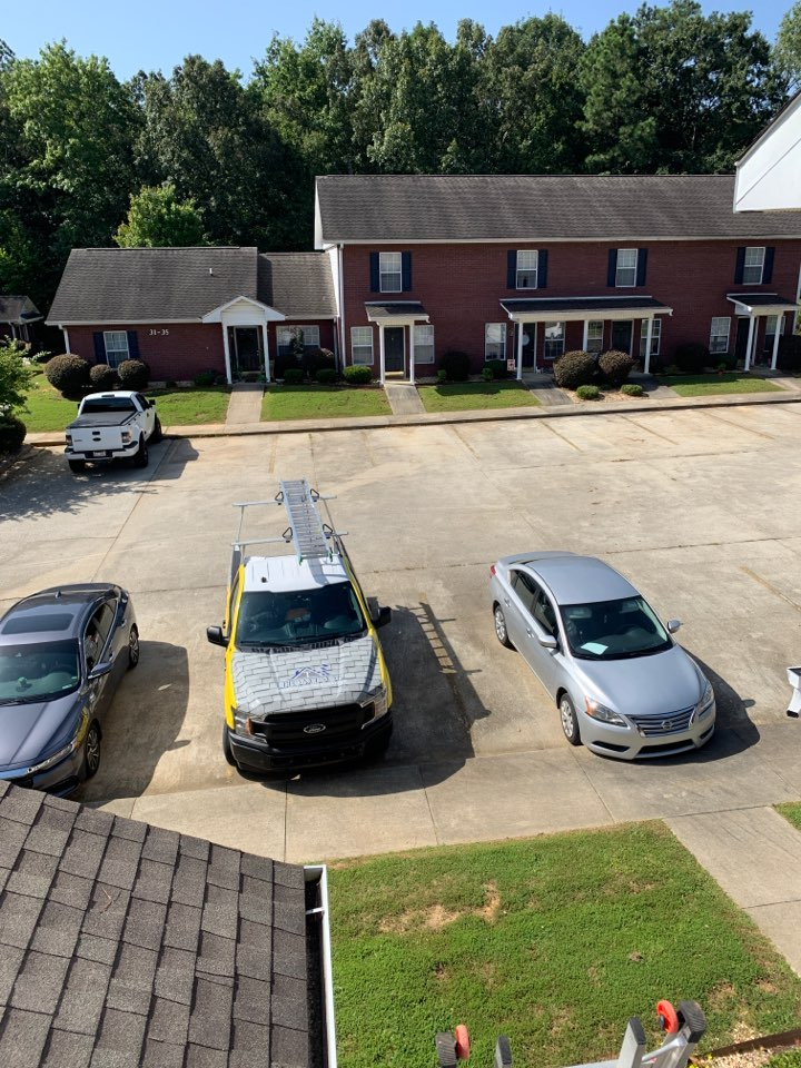 Athens, AL - Apartments are no problem for Thompson Roofing. Leaks happen!!! Even in Athens, Alabama
