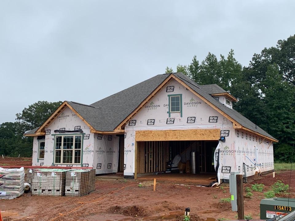 Decatur, AL - New Construction Roofing Project in Decatur, AL! IKO Cambridge WeatherWood
