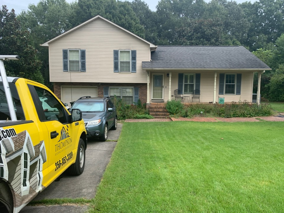 Harvest, AL - Quality replacement roofing on this customer's home in Harvest, Alabama begins soon with Thompson Roofing and Construction in Harvest Alabama.