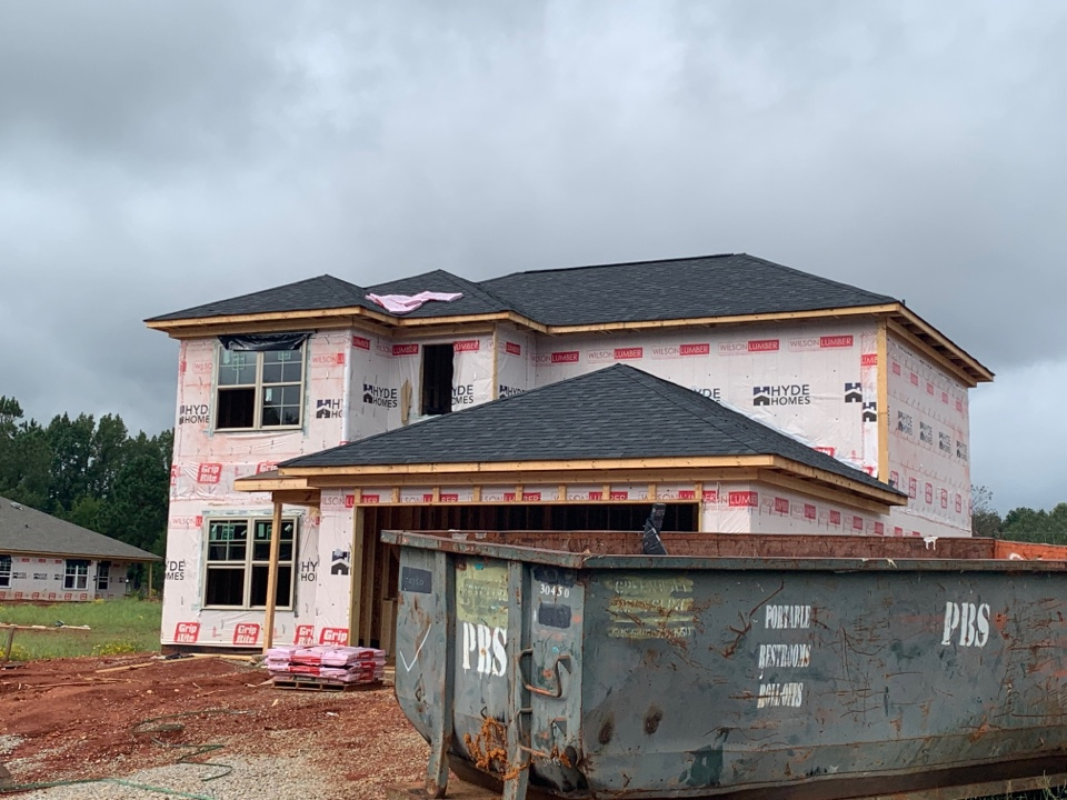 Harvest, AL - New Construction Roofing Project in Harvest, AL! Owens Corning Oakridge Onyx Black